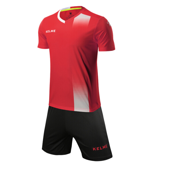 futbolnaya-forma-kelme-short-sleeve-football-set-krasno-chyornaya-3881020-610